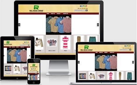 ออกแบบเว็บไซต์โรงงานผลิตเสื้อผ้า,รับทำเว็บไซต์ราคาถูกเสื้อเชิ๊ต