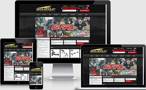 รับทำเว็บไซต์ ผลิตชิ้นส่วน และเครื่องตกแต่งประกอบรถจักรยานยนต์