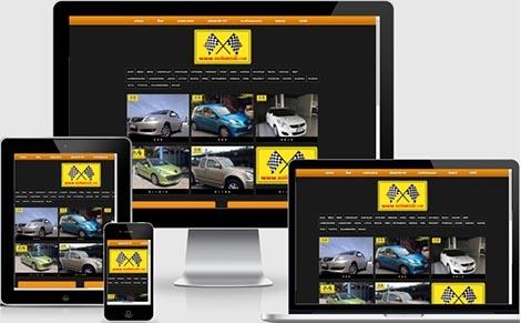 จ้างทำเว็บไซต์ขายรถยนต์มือสอง