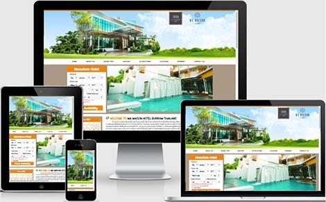 บริษัทรับจ้างทำเว็บไซต์โรงแรม,รับทำเว็บไซต์ราคาถูกจองโรงแรม