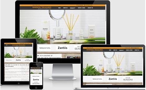 รับจ้างออกแบบเว็บไซต์ผลิตภัณฑ์สปา,ทำเว็บเครื่องสำอาง