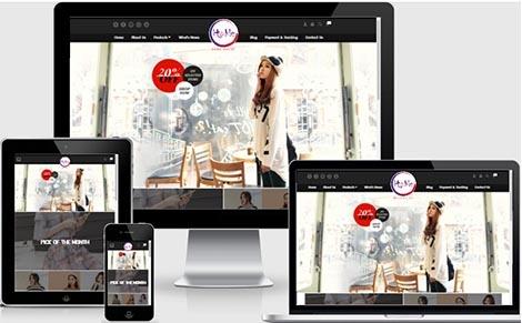 บริการออกแบบเว็บไซต์ขายเสื้อผ้าแฟชั่น