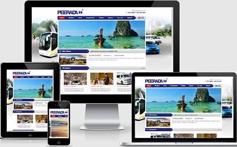 ทำเว็บไซต์การขนส่งและขนถ่ายสินค้า รวมถึงคนโดยสาร