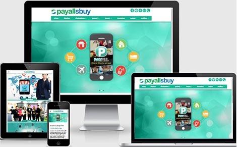 สร้างเว็บไซต์แบบมืออาชีพธุรกิจขายตรงตัดบัตร