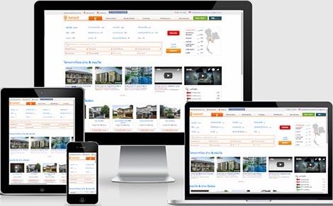 เขียนโปรแกรมเว็บขายคอนโดที่ดินขายบ้าน,รับทำเว็บไซต์อสังหาริมทรัพย์