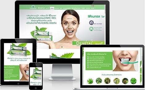 รับทำเว็บยาสีฟันdenetal,รับทำเว็บแบนด์สินค้า,จ้างทำเว็บไซต์