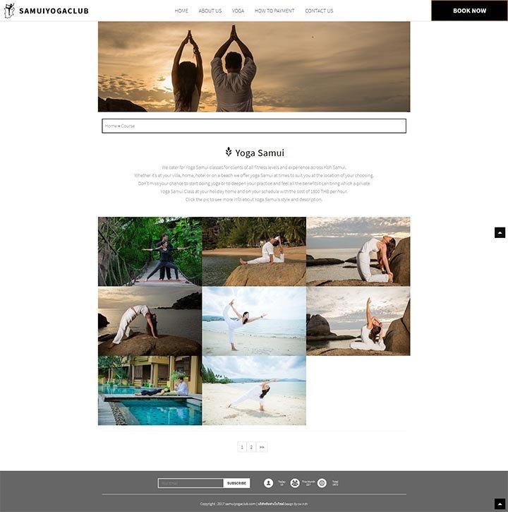 รับออกแบบเว็บไซต์บริการสอนโยคะ,จ้างทำเวปออกกำลังกาย,เขียนเวปสปา,รับทำเว็บนวดเผื่อผ่อนคลาย