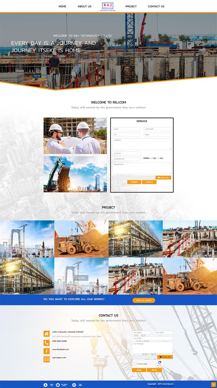 ทำเว็บรับเหมาก่อสร้าง,จ้างทำเว็ปไซต์สร้างบ้าน-สร้างอาคาร,รับออกแบบเว็บไซต์ก่อสร้าง