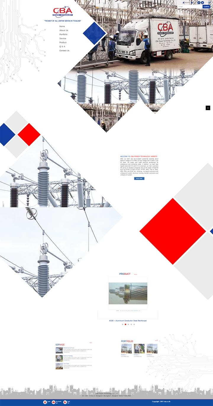 บริษัททำเว็บไซต์รับเหมาซ่อมบำรุงไฟฟ้าแรงงานสูงไฟฟ้าแรงงานต่ำ